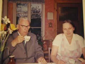 Morfar Harry och mormor Nora
