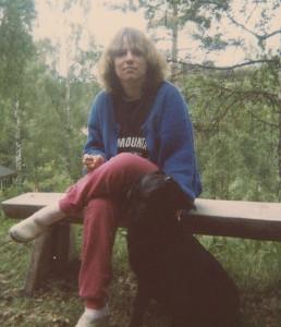 Cicci och Rocky i Duvnäs 1986
