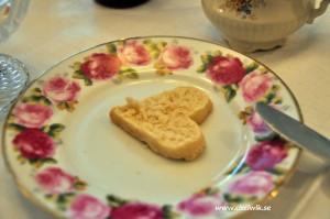 Hjärtformad scones