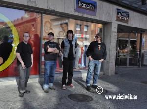 Jonatan, Dennis, Robbin och Tommy